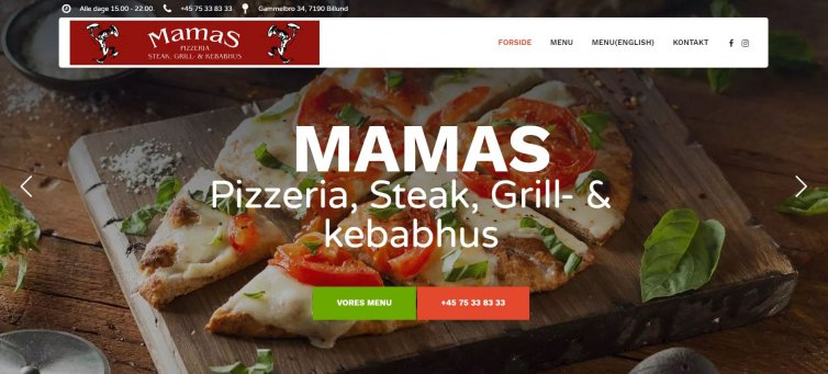 Mamas Pizza Billund