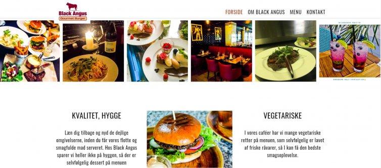 Black Angus Gourment Burger