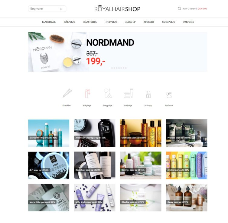 Royalhair Webshop
